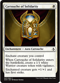 Cartouche of Solidarity - AKH