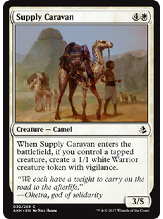 Supply Caravan -AKH