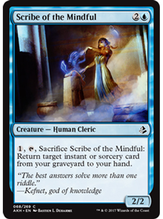 Scribe of the Mindful - AKH
