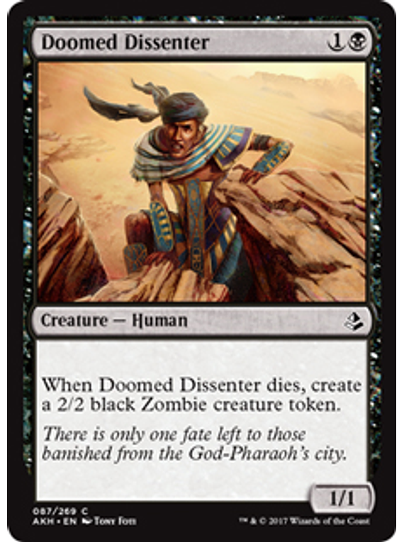 Doomed Dissenter - AKH