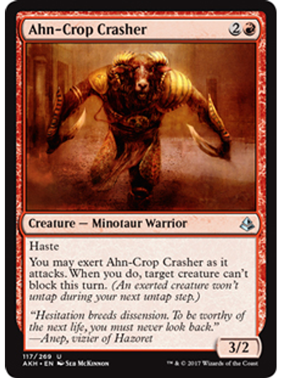Ahn-Crop Crasher - AKH