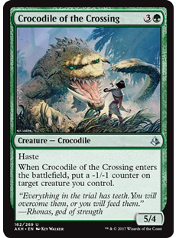 Crocodile of the Crossing - AKH