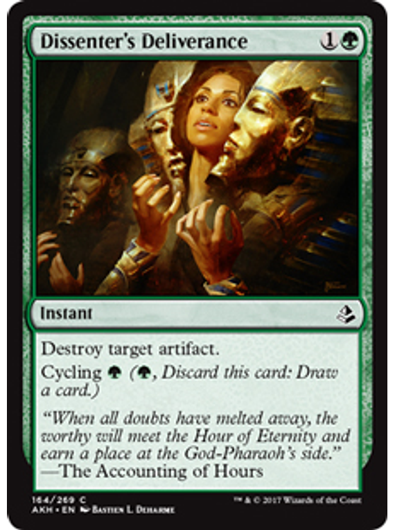 Dissenter's Deliverance - AKH