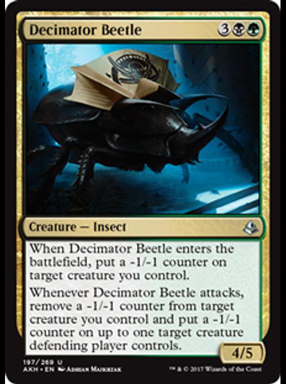 Decimator Beetle - AKH