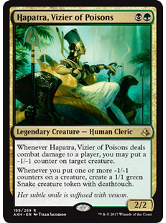 Hapatra, Vizier of Poisons - AKH