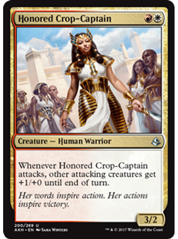 Honored Crop-Captain - AKH