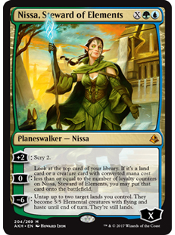 Nissa, Steward of Elements - AKH