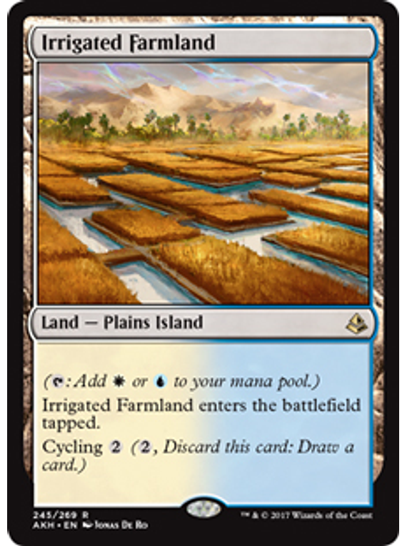 Irrigated Farmland - AKH