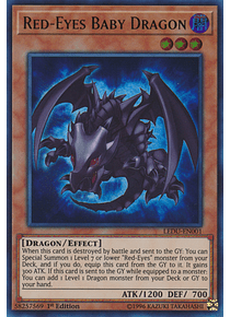Red-Eyes Baby Dragon - LEDU-EN001 - Ultra Rare -