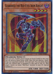 Gearfried the Red-Eyes Iron Knight - LEDU-EN002 - Ultra Rare