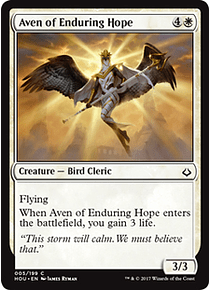 Aven of the Enduring Hope - HOU - C