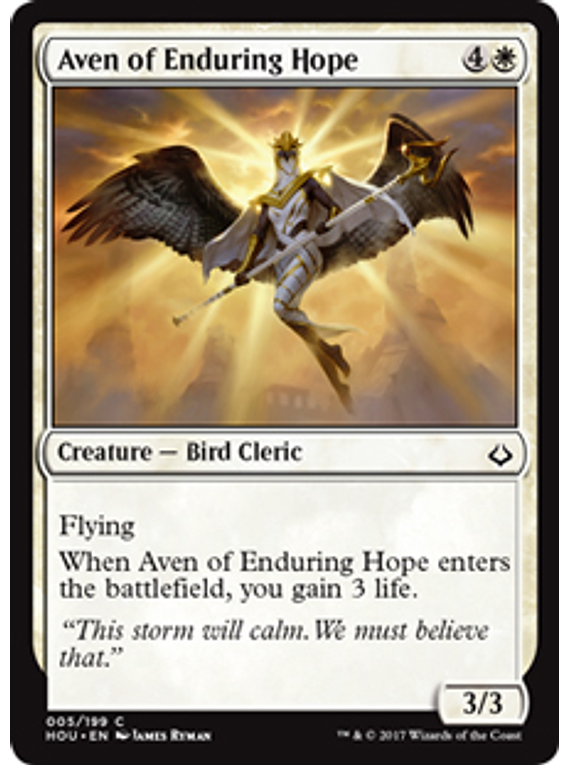 Aven of the Enduring Hope - HOU