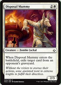 Disposal Mummy - HOU