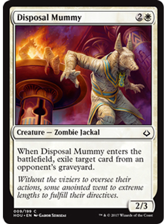 Disposal Mummy - HOU  - C