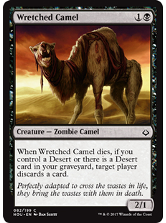 Wretched Camel - HOU