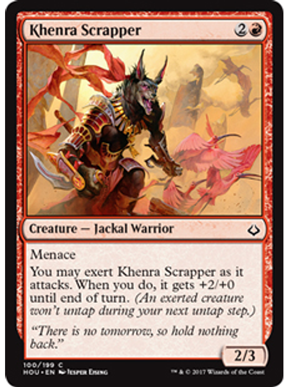 Khenra Scrapper - HOU - C