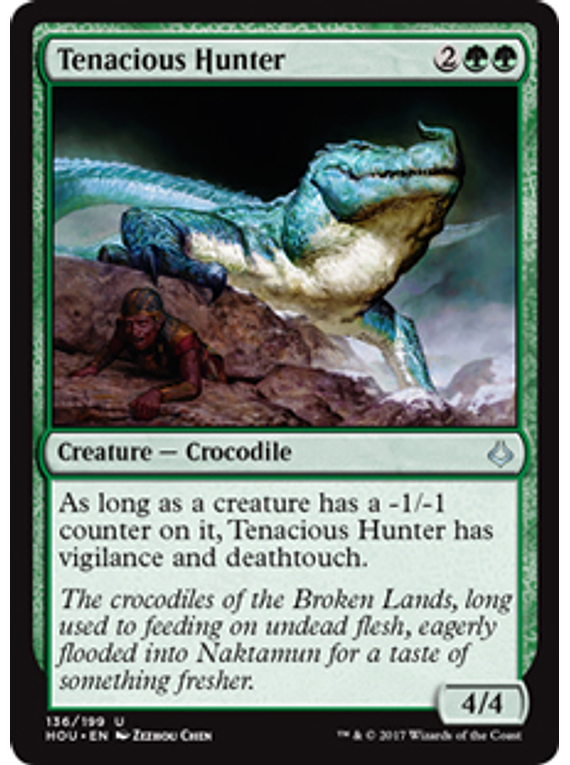 Tenacious - Hunter - HOU