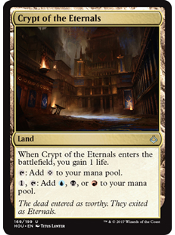 Crypt of Eternals - HOU