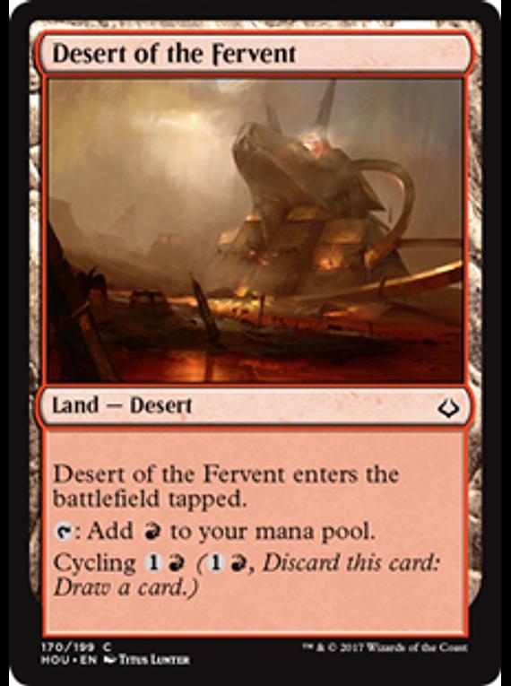 Desert of the Fervent - HOU