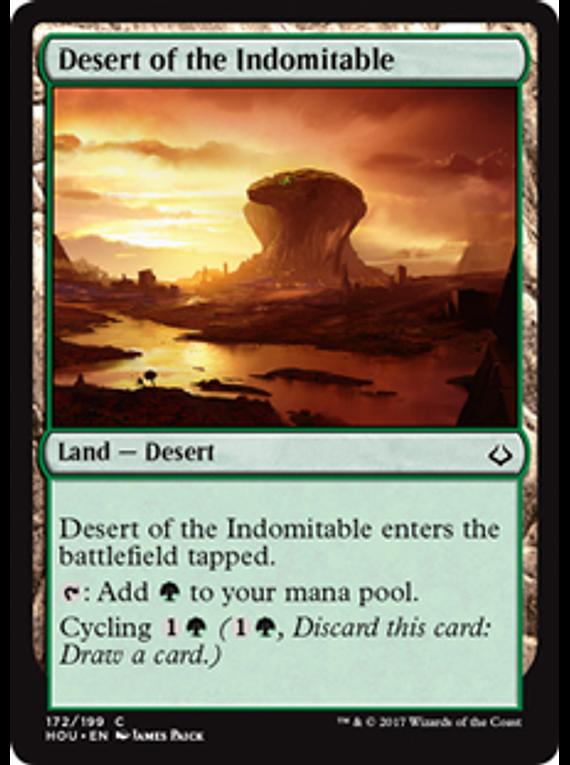 Desert of the Indomitable - HOU