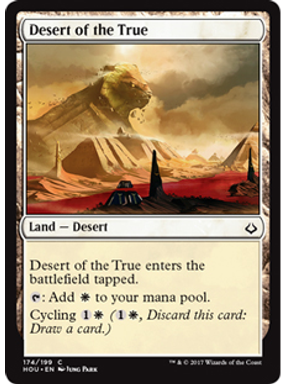 Desert of the True - HOU