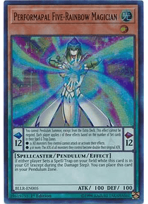Performapal Five-Rainbow Magician - BLLR-EN005 - Ultra Rare