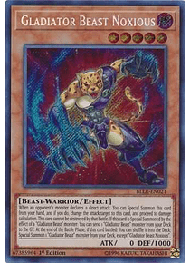 Gladiator Beast Noxious - BLLR-EN021 - Secret Rare