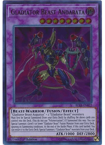 Gladiator Beast Andabata - BLLR-EN022 - Ultra Rare