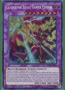 Gladiator Beast Tamer Editor - BLLR-EN023 - Secret Rare