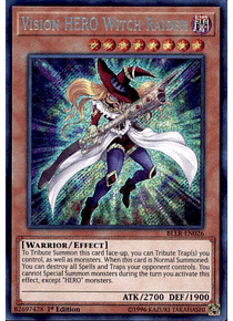 Vision HERO Witch Raider - BLLR-EN026 - Secret Rare