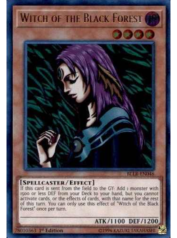 Witch of the Black Forest - BLLR-EN046 - Ultra Rare