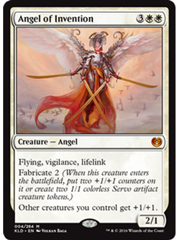Angel of Invention - KLD