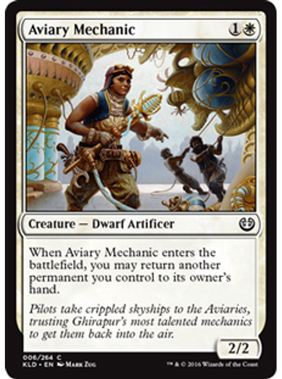 Aviary Mechanic - KLD