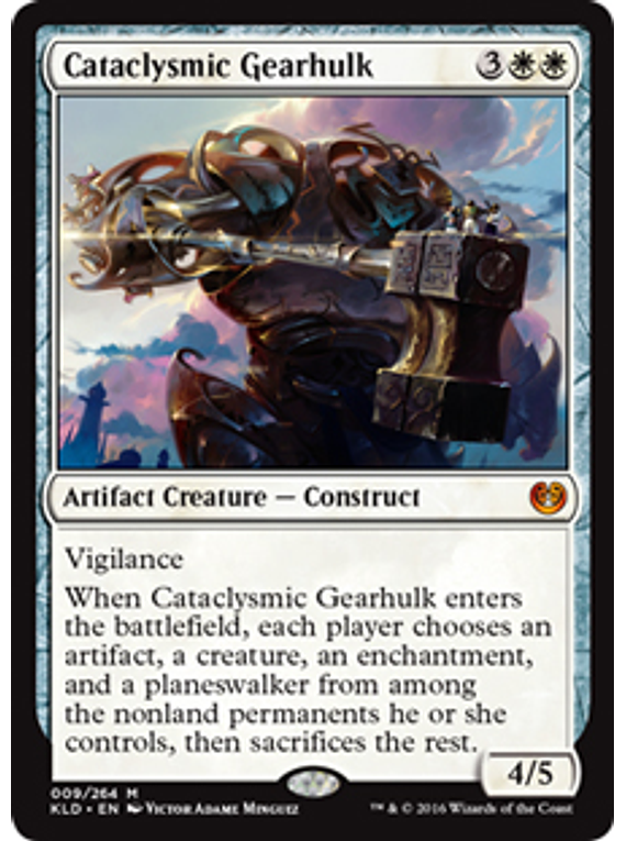 Cataclysmic Gearhulk - KLD