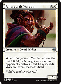 Fairgrounds Warden - KLD