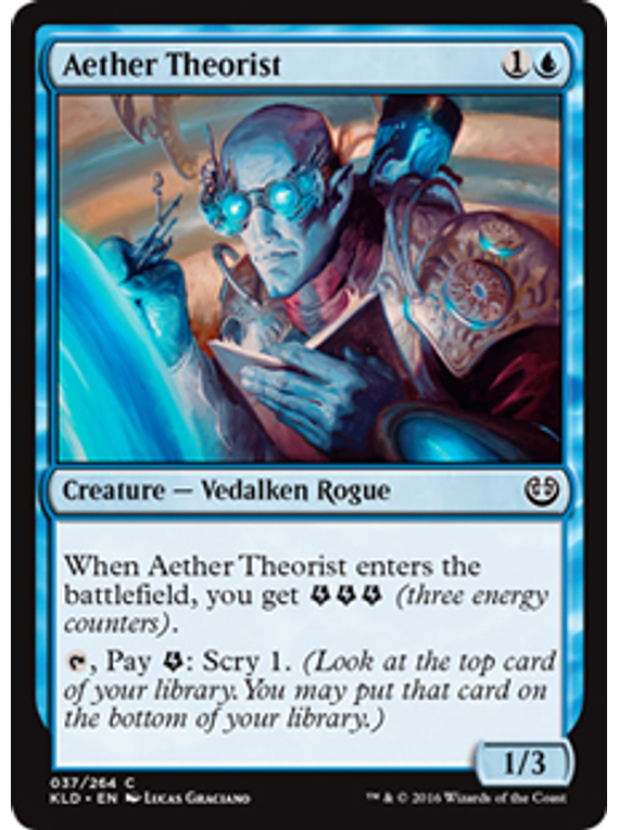 Aether Theorist - KLD