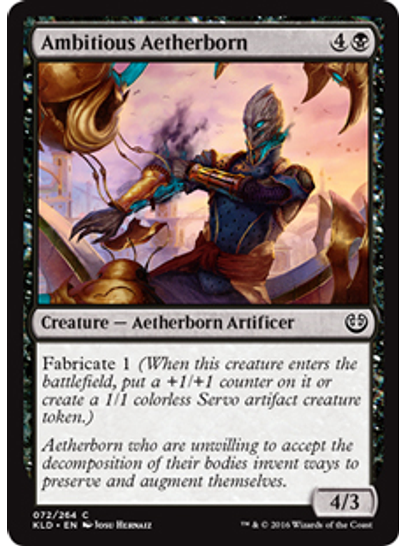 Ambitious Aetherborn - KLD