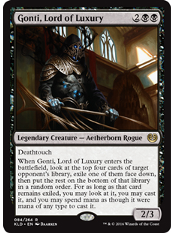 Gonti, Lord of Luxury - KLD