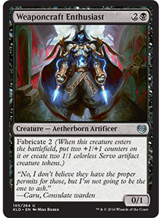 Weaponcraft Enthusiast - KLD