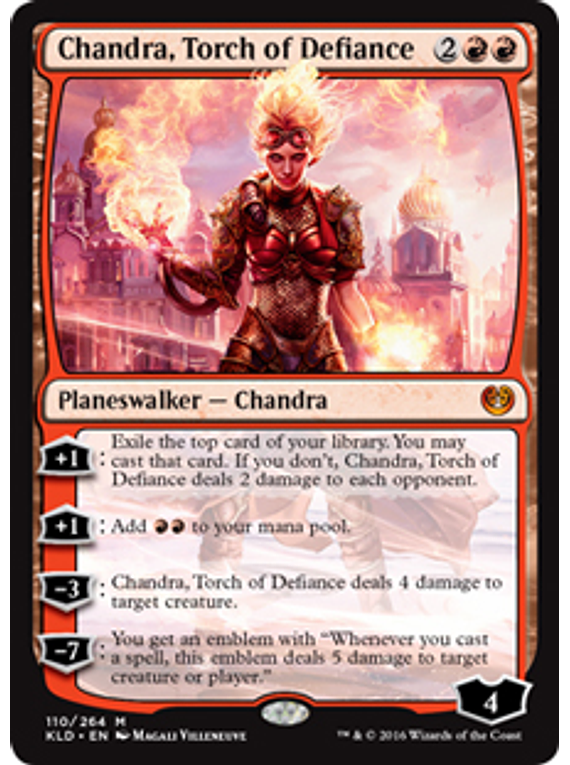 Chandra, Torch of Defiance - KLD