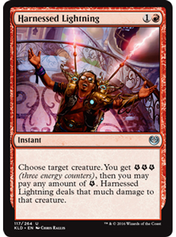 Harnessed Lightning - KLD