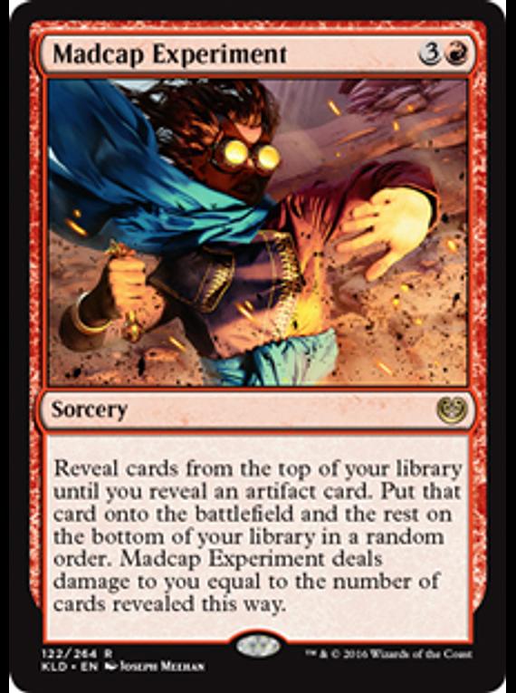 Madcap Experiment - KLD