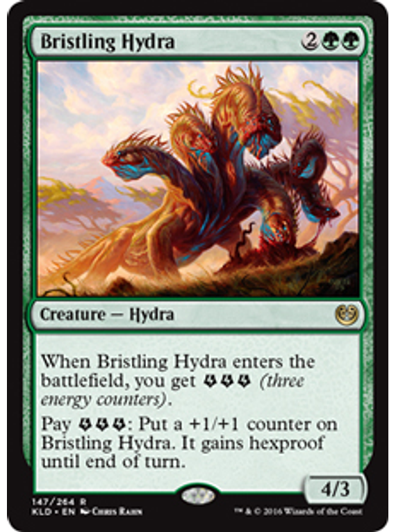 Bristling Hydra - KLD