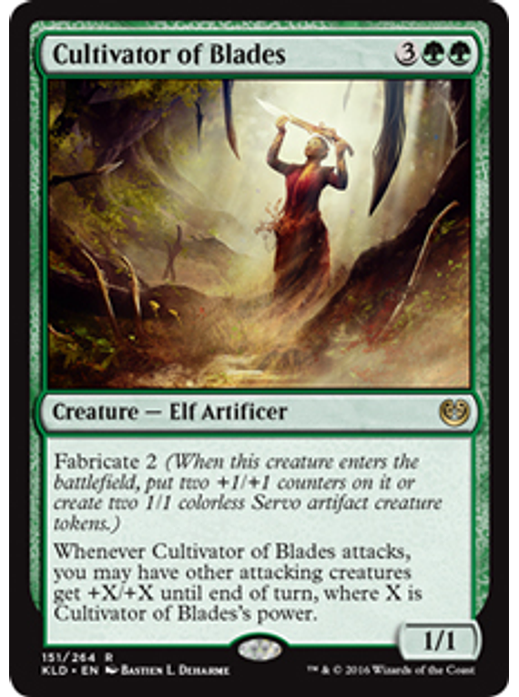 Cultivator of Blades - KLD