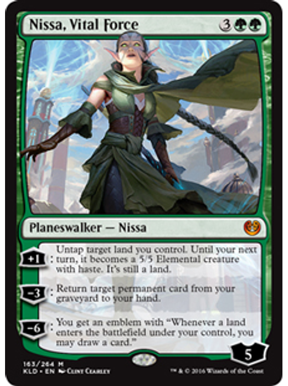 Nissa, Vital Force - KLD - M.