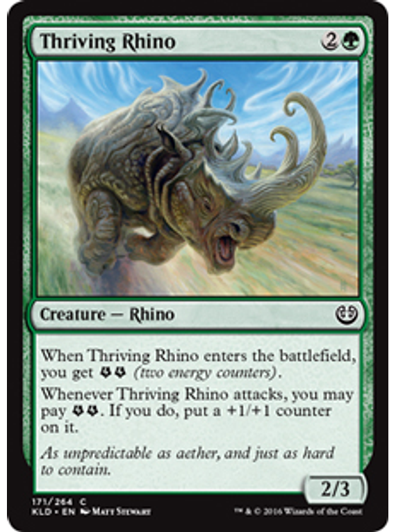 Thriving Rhino - KLD