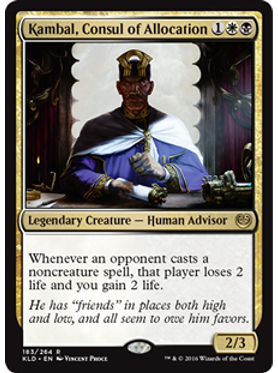 kambal, Consul of Allocation - KLD