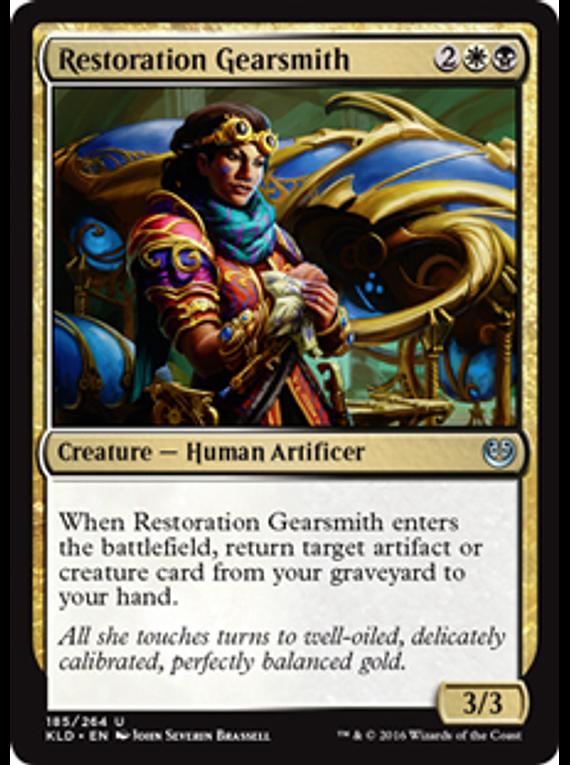 Restoration Gearsmith - KLD