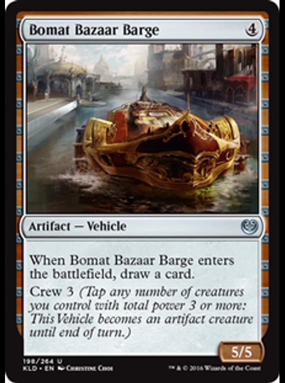 Bomat Bazaar Barge - KLD