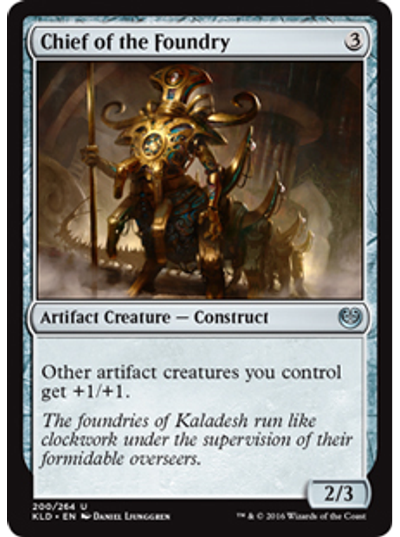 Chief of the Foundry - KLD - U